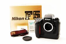 Nikon F5 35mm SLR Film Camera Body W/Box ''Near Mint'' FreeShip From Japan[1046]
