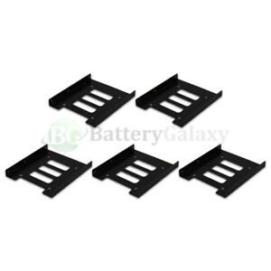"""2.5/"""" SSD HDD to 3.5/"""" Mounting Adapter Bracket Tray Dock for PC SSD Holder ATX/_WK"""