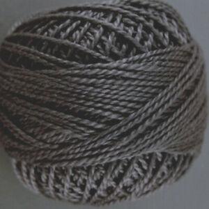 Valdani Perle Cotton Size 12 Embroidery Thread Algae Variegated V15 Hand Dyed
