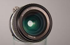 NIKKOR 28 2,8 AiS Super-Weitwinkelobjektiv Ai-S Nikon NEUWERTIG !!!