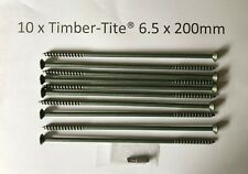 UK seller FREE postage Timber-Tite®  6.5 x 145mm Joist Screw 20 pack