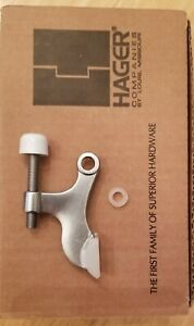 Brushed Satin Chrome US26D Adjustable Hinge pin Door Stop Deltana HPA69U26D