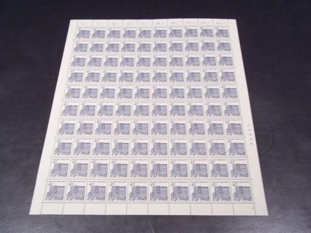 Bund Mi.Nr: 457 Bogen Bauwerke 40 Pf.  **