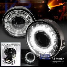2006-2008 F150 Clear Projector Bumper Fog Lights Lamps w/Halo Rim