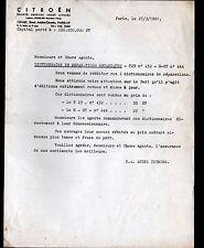 """PARIS (XV°) USINE AUTOMOBILE CITROEN """"CAMION T23 & HY"""" en 1961"""