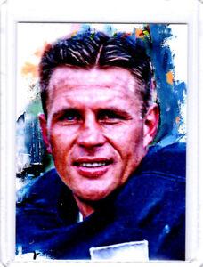 2021 Doak Walker Detroit Lions Football 1/1 Art ACEO Print Card By:Q