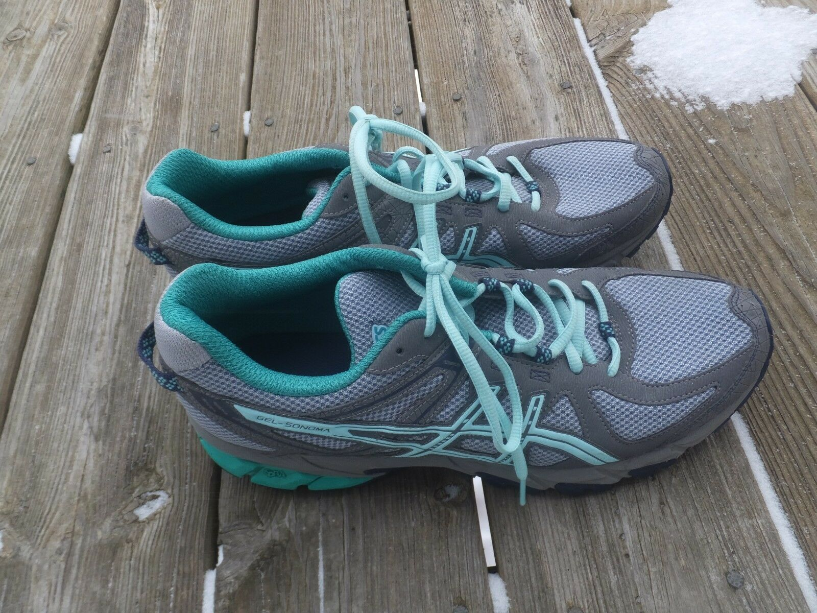 Asics Men's Gel-Sonoma 3 Trail Running shoes Size 12, Mint Condition
