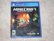 MINECRAFT...PS4...***SEALED***BRAND NEW***!!!!!