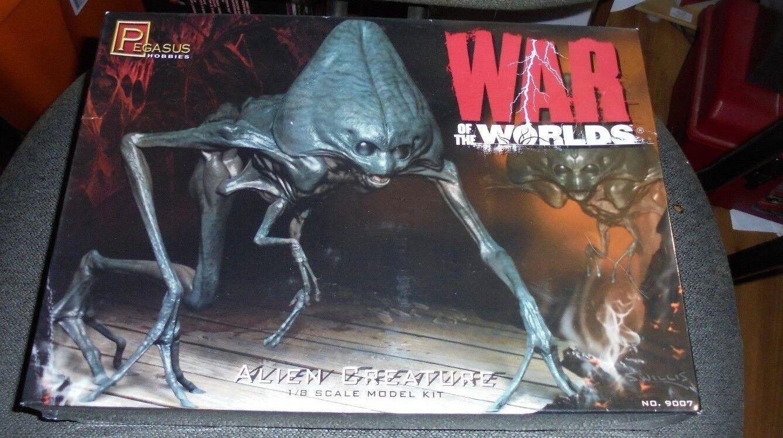 War of the Worlds  ALIEN CREATURE  1 8 scale Model Kit Pegasus Hobbies 2010