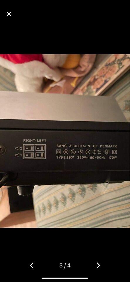 Forstærker, B&O Beomaster 3000, type 2931