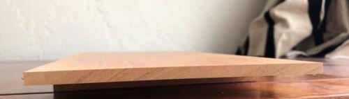 1 × hoja de madera de caoba sólido 3mm hondureño
