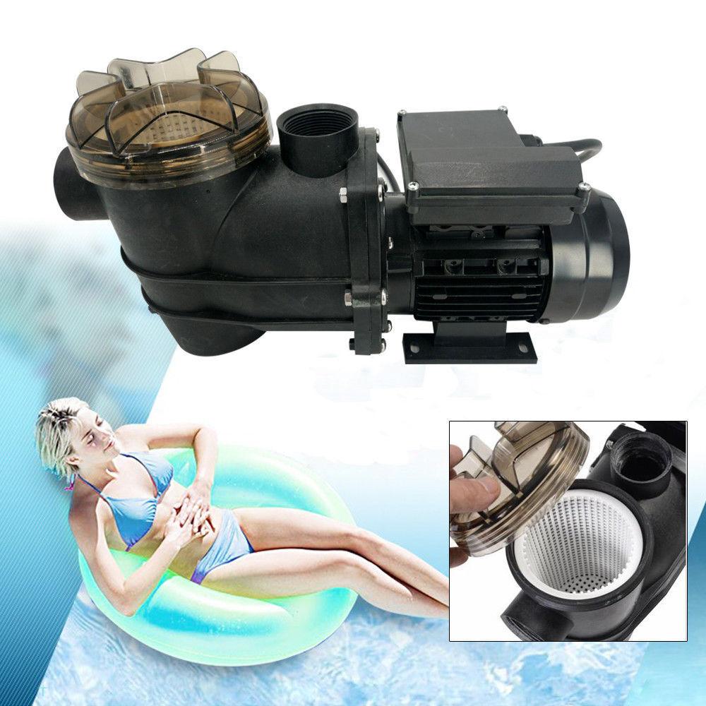 220V/180W Großer integrierter Filterkorb Selbstansaugend Umwälzpumpe Filtern