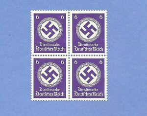 MNH-Stamp-Block-PF06-1942-Issue-WWII-emblem-MNH-Third-Reich-block