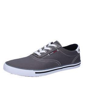 jasný v lesku stabilní kvalita celosvětový výběr Details about men's shoes TOMMY HILFIGER DENIM 8 (EU 41) sneakers gray  textile AB948-C