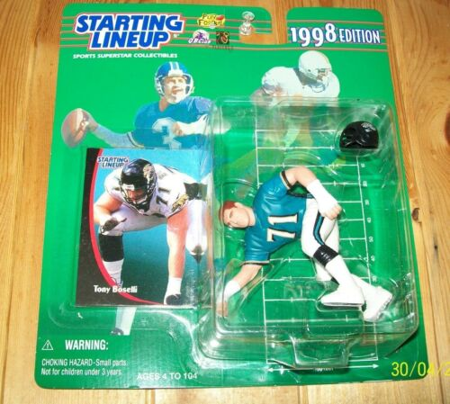 1998 Starting lineup Tony Boselli Jacksonville Jaguars  new in package Rookie