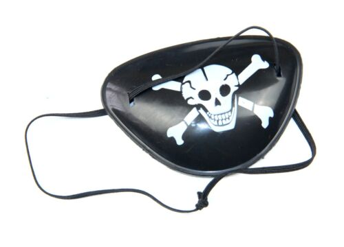 Pirate Eye Patch Party Bag Fillers Toy Fancy Dress Halloween Costume kids