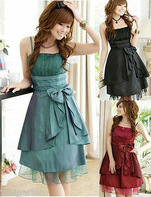 Short Prom Dress Graduation Ball Evening Party Cocktail Red Black 1110