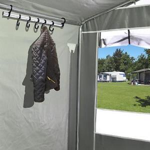 zeltkleiderhaken leiste mit 7 haken zelthakenleiste f r wohnmobile und zelte ebay. Black Bedroom Furniture Sets. Home Design Ideas