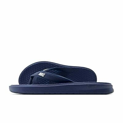 Nike Flip Flops solay Tanga Blau Navy Sandalen warmes Herren Bad Folien Komfort NEU   eBay
