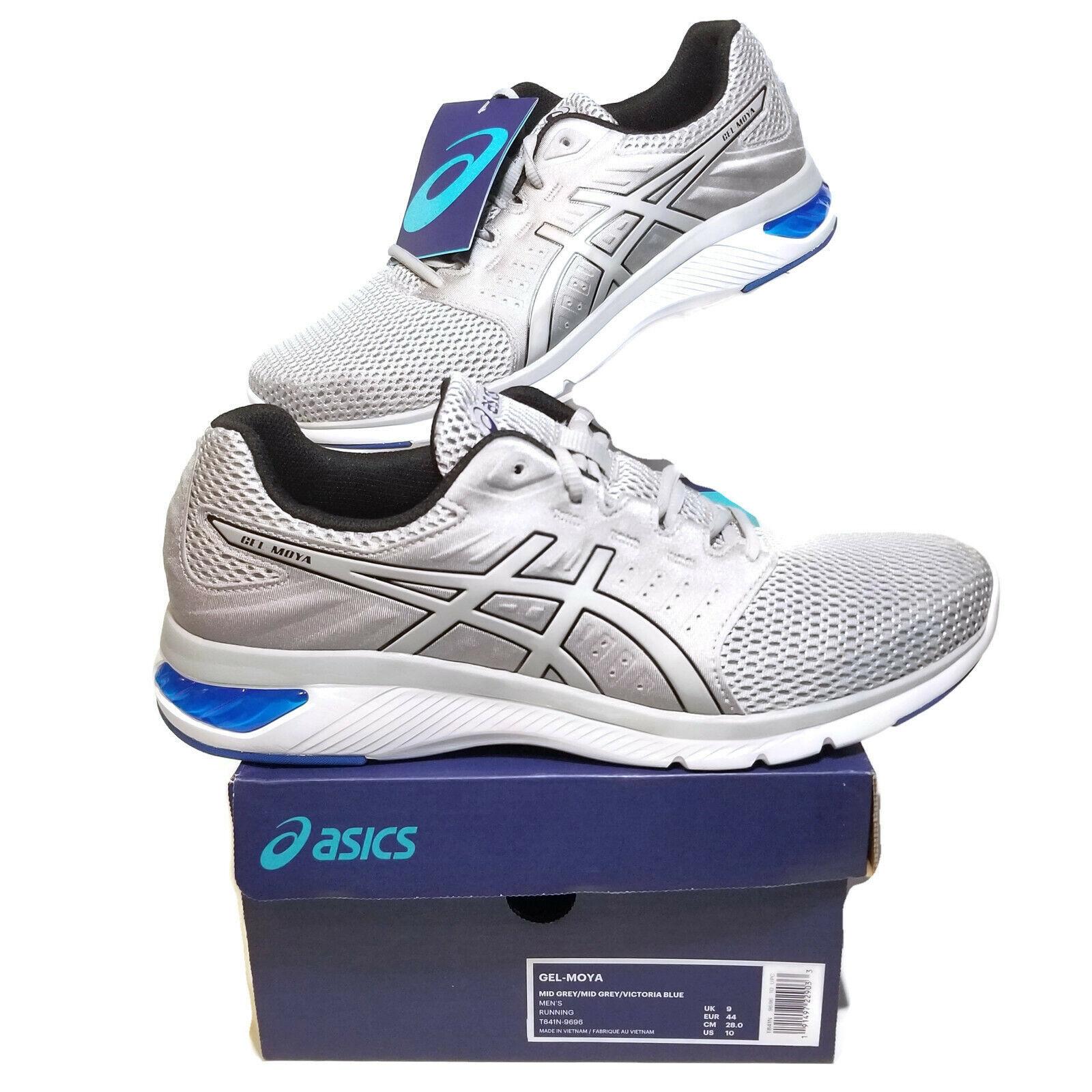 00413a182f9c Asics Gel Men 9 Running shoes Grey blueee T841N-9696 Sneaker Yoga Moya  Fitness nyytnj2321-Men