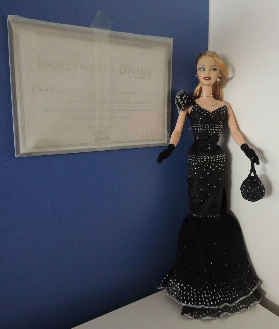BARBIE HOLLYWOOD DIVINE BLONDE EXCLUSIVE COLLECTOR'S FAN CLUB 2003