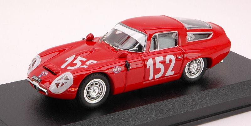 ALFA ROMEO TZ 1  152 27th TARGA FLORIO 1970 giugno/Sutera 1:43 Model