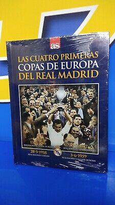 Libro Y Dvd As Las Cuatro Primeras Copas De Europa Del Real Madrid Ebay