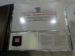 HISTORIC-STAMPS-OF-AMERICA-Limited-Edition-Collection-US-Set-of-200-1985-1988