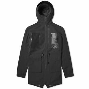 700-BrandNew-Nike-X-Undercover-Medium-Black-Parka-Jacket-Fishtail-Tech-Pack-Lab