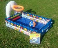 New Inflatable Pool Basketball Kids Splash Toddler Baby Wading Pool or Ball Pit
