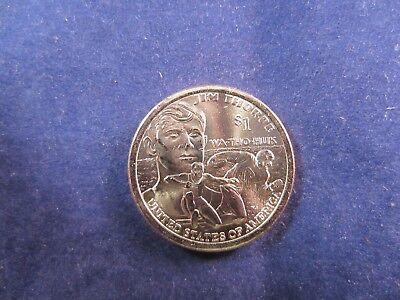 2018-D One Dollar single coin Native Sacagawea Dollar JIM THORPE  WA THO HUK $1
