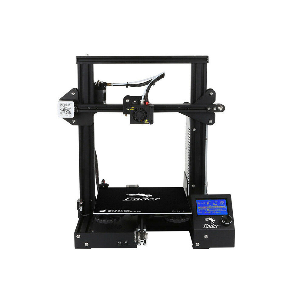 Creality Ender3 3D Printer Resume Print OSHW Certified 220x220x250 mm DC 24V 15A