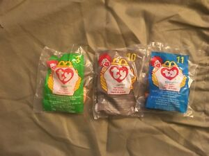 Image is loading UNOPENED-MCDONALDS-TY-TEENIE-BEANIE-BABIES-SET-OF- 42eddd99c4a