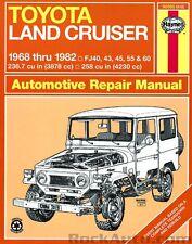 Land Cruiser FJ40 43 45 55 Haynes Repair Manual NEW Owners Book Service