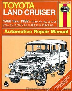 land cruiser fj40 43 45 55 haynes repair manual new owners book rh ebay com fj40 manual transmission clean fj40 manual transmission