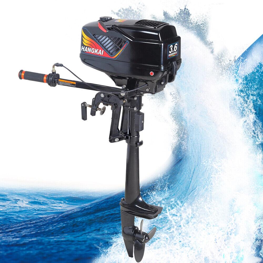 Motor externo de bote de enfriamiento de agua CDI + de 2 tiempos de 3.6 HP DE