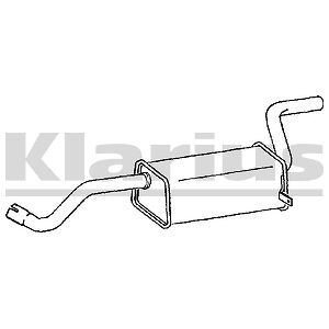 Replacement Exhaust Silencer Back Box 2 Year Warranty
