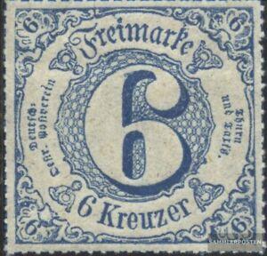 Thurn-und-Taxis-53-postfrisch-1866-Ziffer