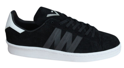Adidas Originals By White Mountaineering Campus Mens Trainers Black BA7516 Y25A
