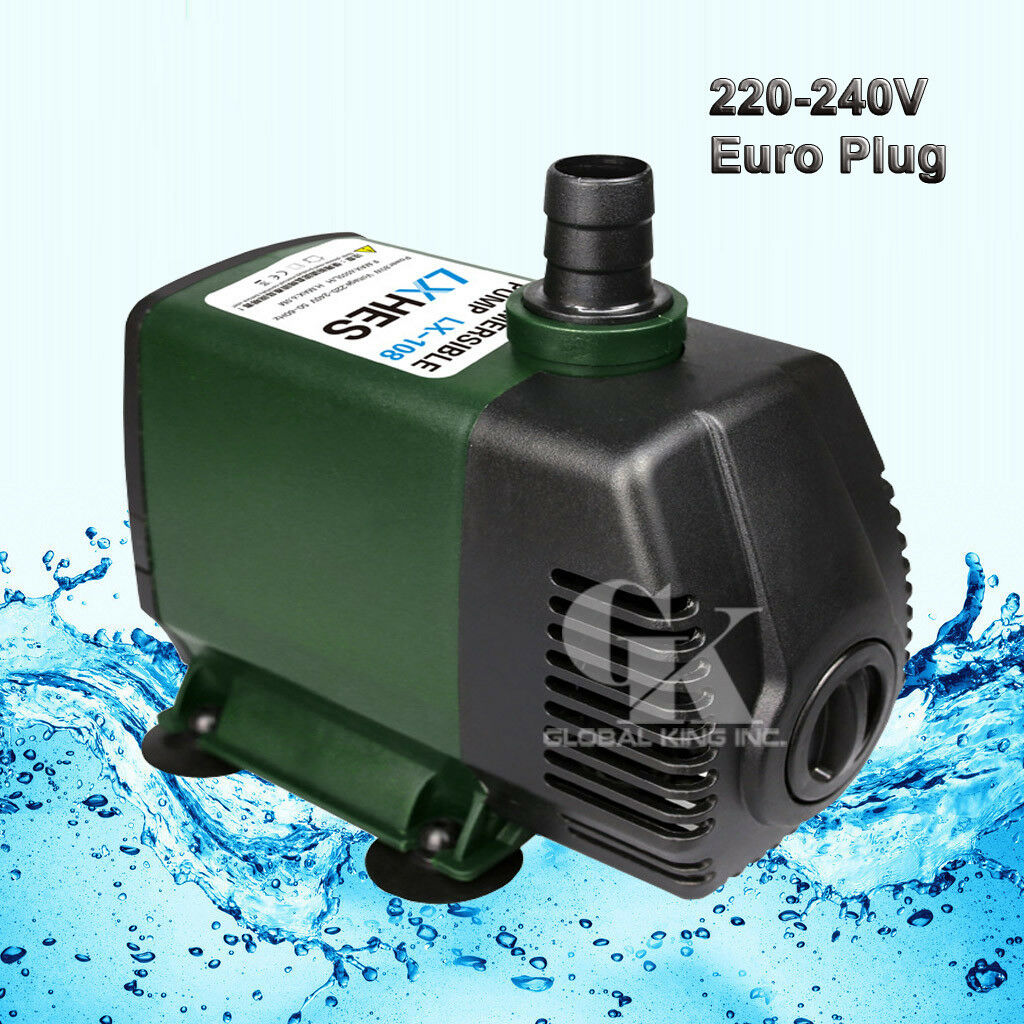 220V Submersible Water Pump 6500LPH Fish Tank Fountain Pond Aquarium Hydroponic