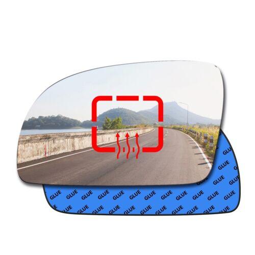 Izquierda Climatizada Convexo Espejo Vidrio Volkswagen Nuevo Escarabajo 1998-2002 81LHS