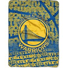 NBA Golden State Warriors große Decke Silk Throw Blanket Redux Basketball