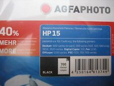 AGFA PHOTO HP nr. 15 C6615D deskjet DJ-840C INK BK  42ml black  Neuware