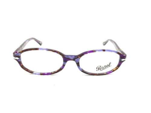$340 PERSOL Womens PURPLE EYEGLASSES FRAMES GLASSES ITALY LENS 2980-V 916 51