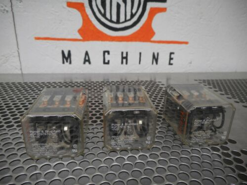 Potter /& Brumfield KUP-17D19-12 Relays 12VDC 10A 250VAC Used Warranty Lot of 3