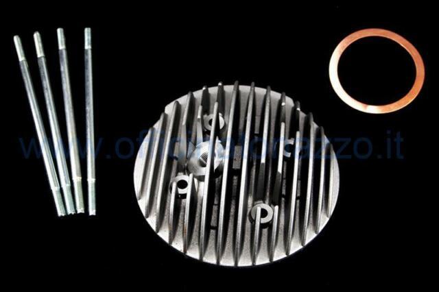 Tête Cylindre Polini Racing Evolution pour Cylindre en Fonte 130cc Complet de P