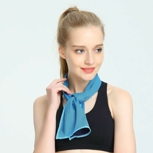 Outdoor Sports Running Gym Jogging Chilly Towel Instant Cold Cooling Towel CA