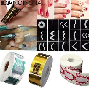 500Pcs-Forme-Chablon-Acrylique-Faux-Ongle-Extension-Construction-Gel-UV-Nail-Art