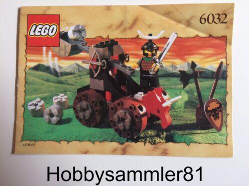 Lego 6032 Castle Bauanleitung  Knights Kingdom I Catapult Crusher