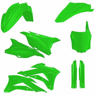 Acerbis Full Plastic Kit Flo Green for Kawasaki Off-Road Motorcycles